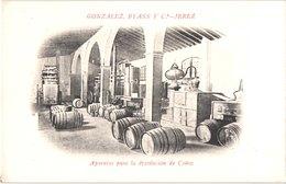 ES JEREZ - GONZALEZ By Ass Y C - Aparatos Para La Destilacion De Conac Cognac - Belle - Espagne