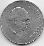 Grande Bretagne - Médaille Churchill - 1965 - Cupro-Nickel - Monarchia/ Nobiltà