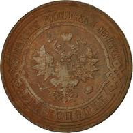 Monnaie, Russie, Nicholas II, 3 Kopeks, 1912, Saint-Petersburg, TTB, Cuivre - Russia