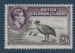 SOLOMON - YVERT N° 68 * MLH - COTE = 35 EUR. - FAUNE ET FLORE - British Solomon Islands (...-1978)