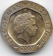 Grande Bretagne - 20 Pence - 2007 - 1971-… : Monnaies Décimales