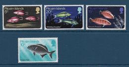 PITCAIRN - YVERT N° 113/116 ** MNH - COTE = 18 EUR. - FAUNE ET FLORE - POISSONS - Pitcairn Islands