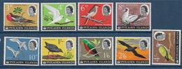 PITCAIRN - YVERT N° 41/49 ** MNH - COTE = 33.65 EUR. - FAUNE ET FLORE - OISEAUX - Pitcairn Islands