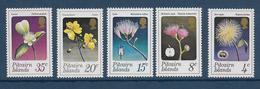 PITCAIRN - YVERT N° 128/132 ** MNH - COTE = 20 EUR. - FAUNE ET FLORE - - Timbres