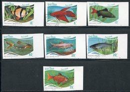 Y85 VIETNAM 1988 1896u-1902u Tropical Fish. Fish. Fauna - Fishes