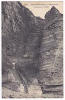 Saint Martin Aux Buneaux - La Descente à La Mer (animation, Escaliers Le Long De La Falaise) Circulé 1913 - Frankreich