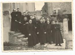 Photo (9.5x7cm) Houdreville  Seminaire  Pretres  1955 - Autres Communes
