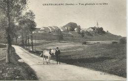 Chatelblanc (Doubs) - Vue Générale Et La Côte - France