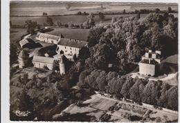 CPSM   TRUCY-L'ORGUEILLEUX 58  Vue Aérienne Du Château. - Autres Communes