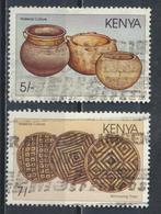 °°° KENYA - Y&T N°444/45 - 1988 °°° - Kenia (1963-...)