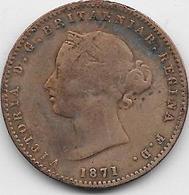 Jersey - 1/26 Schilling - 1871 - TTB - Jersey