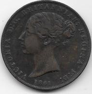 Jersey - 1/26 Schilling - 1861 - TTB - Jersey
