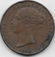Jersey - 1/26 Schilling - 1844 - TTB - Jersey