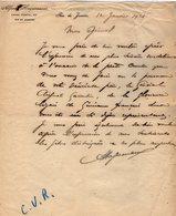 VP13.066 - RIO DE JANEIRO 1921 - Lettre De Mr Alfred HAGUENAUER Pour Le Général GAMELIN - Manuscripts