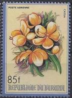 Burundi 1986 OBCn° LP PA 556 Yvertn° PA 499 *** MNH Cote 8,50 Euro Flore Fleurs Bloemen Flowers - 1980-89: Neufs