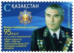 Kazakhstan 2018. Prosecutor Seitov. One Stamp. New!!! - Kazakhstan