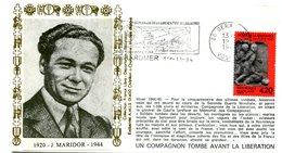 Libération - Flamme Gerardmer Du 19 Novembre 1994 - 50ième Anniversaire - X 511 - WW2