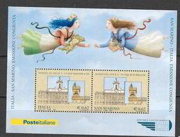 """Italia 2006  Mostra Filatelica """"Le Due Repubbliche""""  Emissione Congiunta Con San Marino Foglietto Nuovo/mnh** - 6. 1946-.. Repubblica"""