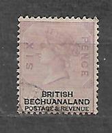 #513B# BECHUANALAND YVERT 15 USED. - Bechuanaland (...-1966)