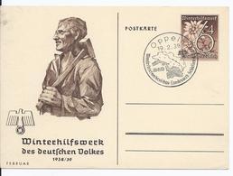 Dt.- Reich (002375) Propaganda Ganzsache P274/ 05, Februar, Winterhilfswerk 1938/ 39 Mit SST Oppeln Vom 19.2.1939 - Ganzsachen