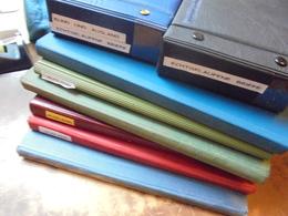 """TRES BEAU LOT """"MONDE"""" 6 ALBUMS+2 ALBUMS FDC. (6 KILOS) - Stamps"""