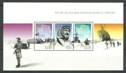 Australia AAT 2012 Phillip Law Centenary S/S Y.T. BF 10 ** - Ungebraucht
