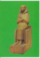 Berlin Museum Egyptian Museum Sitzbild Des Gutsvortehers Uncirculated Postcard (ask For Verso / Demander Le Verso) - Antichità