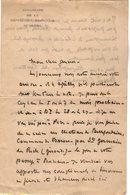 VP13.068 - Ambassade De La République Française Au BRESIL - Lettre Pour Mr Le Général GAMELIN - Manuscripts