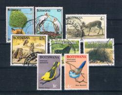 Botswana Kleines Lot 6 Werte Gestempelt 2 Werte ** - Botswana (1966-...)