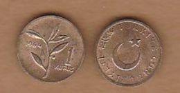 AC - TURKEY 1 KURUS 1964 BRONZ UNCIRCULATED - Turkey