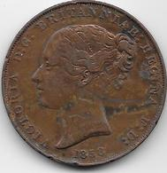 Jersey - 1/13 Schilling - 1858  - TB - Jersey
