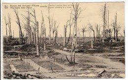 Cartes Postales Ancienne - Environs D Ypres Cimetiere Anglais Dans Un Bois - War 1914-18
