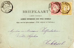 30 SEP 98 Ansichtkaart Met Kleinrond BEEK(LIMB.) Naar Kerkdriel Met Combinatiefrankering NVPH30 En 32 - Periode 1891-1948 (Wilhelmina)