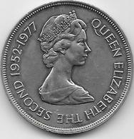Jersey - 25 New Pence - 1977  - TTB - Jersey