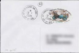 47 - LOT ET GARONNE - MONTAGNAC SUR LEDE  Xxx -  2005 - TàD De Type A9  GA Limé - Postmark Collection (Covers)