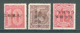 ALLEMAGNE ; HAUTE SILESIE ; 1920 ; Y&T N° 9-10-13 ;neuf - Allemagne