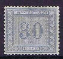Deutschland, 1872, Mi 13  , Unused No Gum / (*) Thin Spot - Deutschland