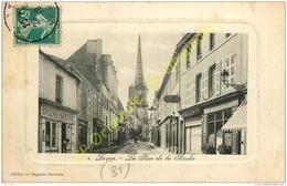 85. LUCON .  La Rue De La Roche . - Lucon