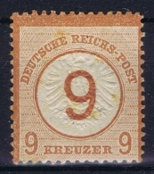 Deutsches Reich: Mi Nr 30 MH/* Falz/ Charniere - Ungebraucht