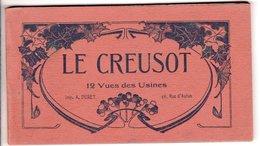 Album 12 Cartes Postales Ancienne - Le Creusot 12 Vue Des Usines - Le Creusot