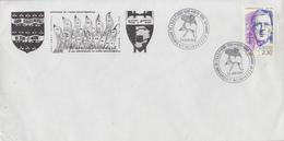 Enveloppe    FRANCE   Centenaire   SAPEURS - POMPIERS      MELUN    1990 - Sapeurs-Pompiers