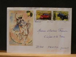 81/169  LETTRE FRANCE - Cars