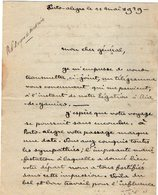 VP13.071 - PORTO ALEGRE 1929 ( Brésil ) - Lettre De Mr ??  Pour Mr Le Général GAMELIN - Manuscripts