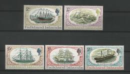 Falkland 1970 Restoration Of ' The Great Britain ' Y.T. 186/190 ** - Falklandinseln