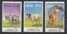 °°° KENYA - Y&T N°601/3 - 1995 °°° - Kenia (1963-...)