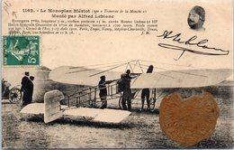 AVION - Aviateur - Trouville-Deauville 1910 - Meeting  Le Monoplan Blériot - Monté Par Alfred Leblanc - Aviateurs