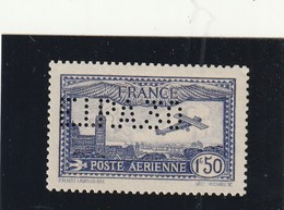 France Poste Aérienne N° 6c EIPAZIO Sans Charnoére ** Signe Brun - Poste Aérienne
