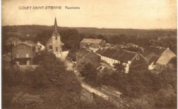 COURT-ST-ETIENNE   Panorama. - Court-Saint-Etienne