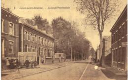 COURT-ST-ETIENNE  La Route Provinciale. - Court-Saint-Etienne