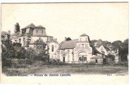 COURT-ST-ETIENNE  Ruines Du Château Lamotte. - Court-Saint-Etienne